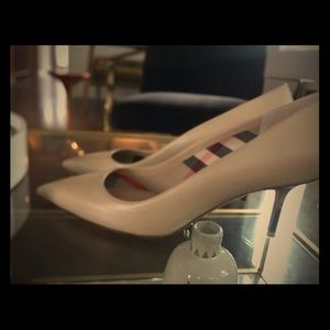 Authentic Burberry Heels